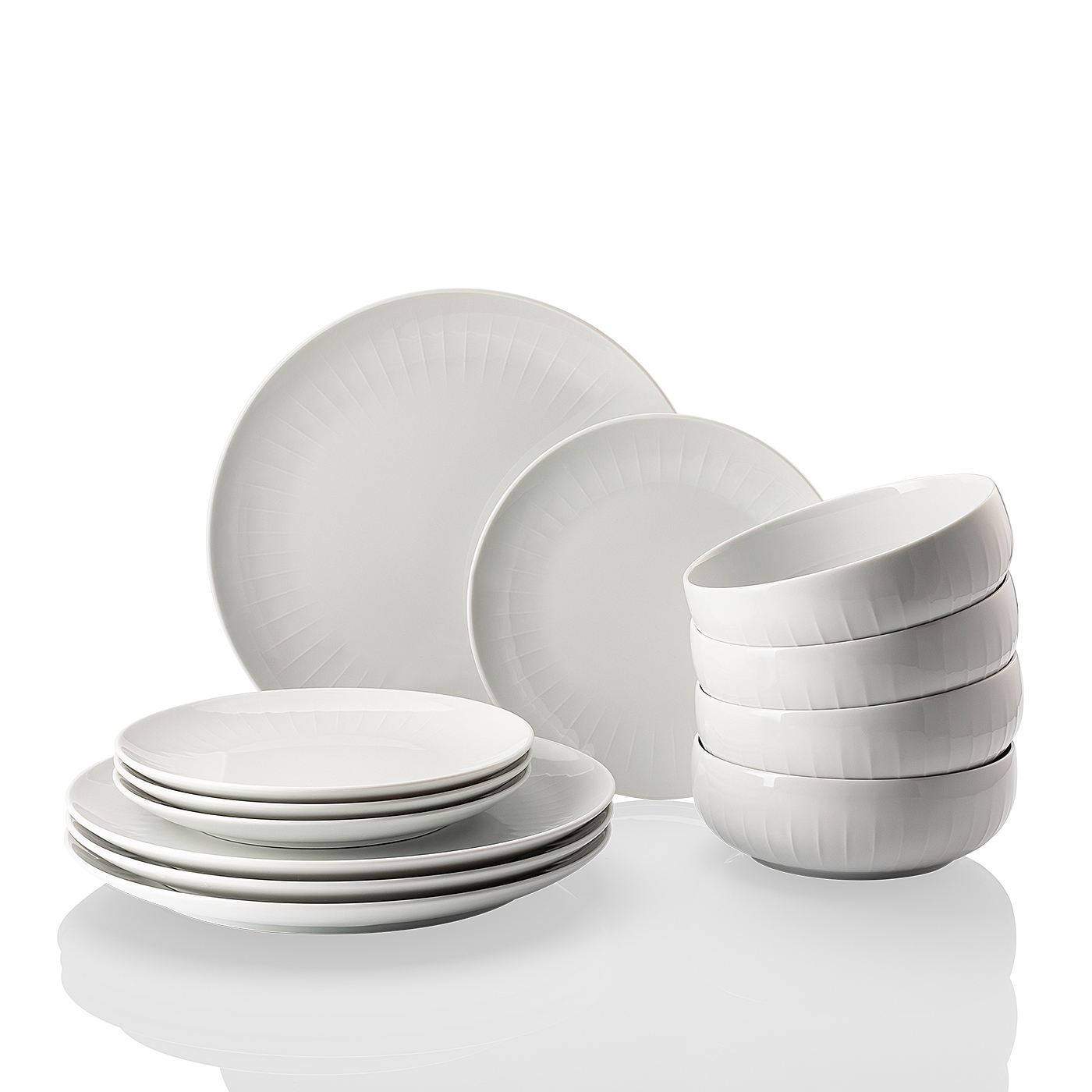 Dinnerset 12-tlg./GK Joyn Weiß Arzberg