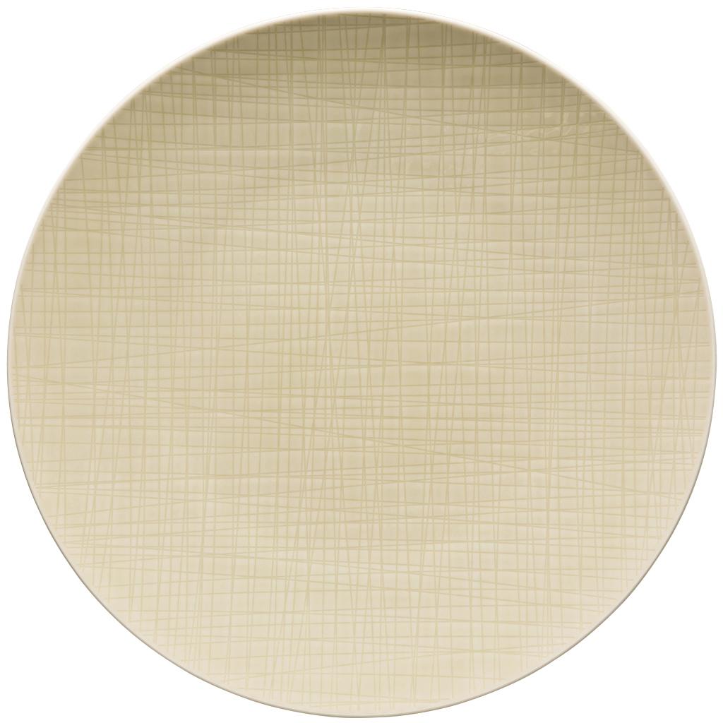 Teller flach 33 cm Mesh Colours Cream Rosenthal