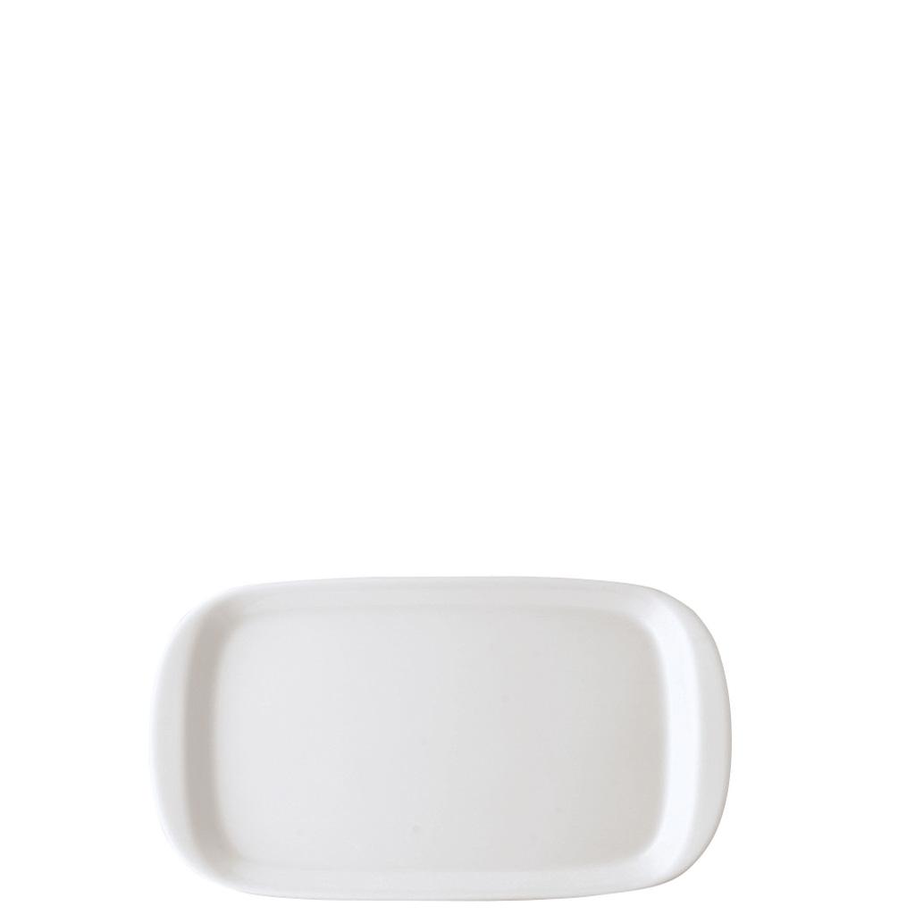 Milch-/Zucker-Tablett Form 1382 Weiss Arzberg