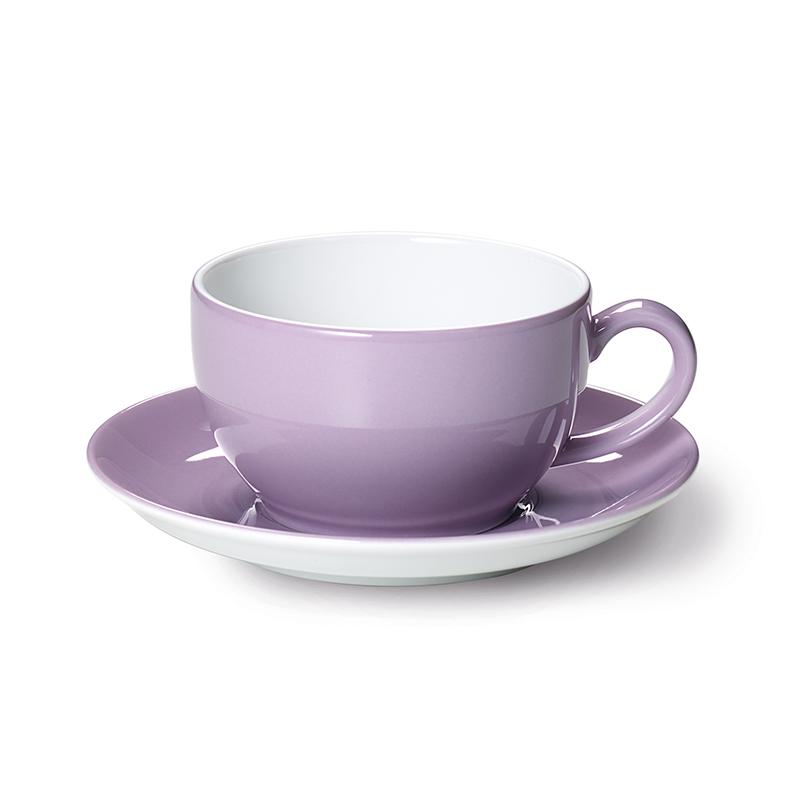 Cappuccino-Obertasse 0,30 l Solid Color Flieder Dibbern