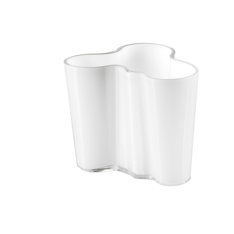 Vase – 9,5 cm - OpalWeiss Aalto Iittala