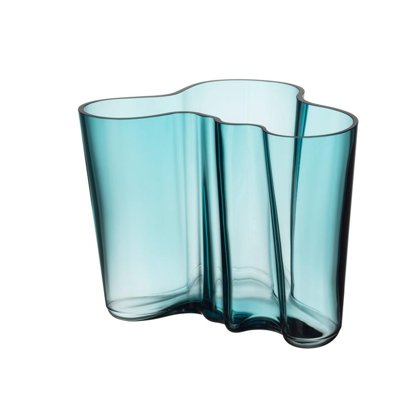 Vase – 16 cm - Seeblau Aalto Iittala