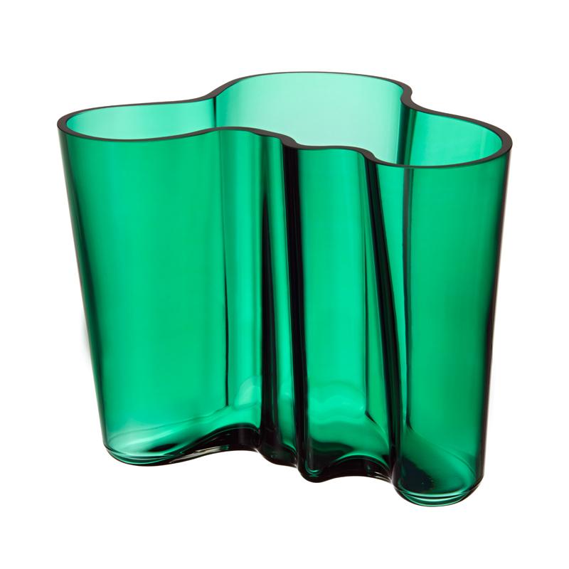 Vase – 16 cm - Emerald Aalto Iittala