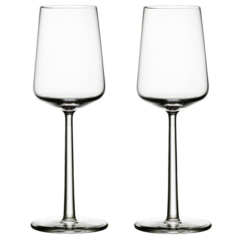 Weissweinglas - 330 ml - Klar - 2 Stück Essence Iittala