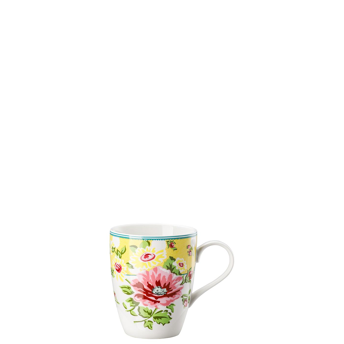 Becher mit Henkel Springtime Flowers Sun Hutschenreuther