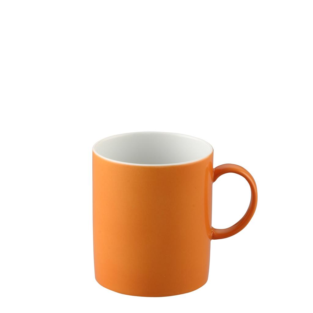 Becher mit Henkel Sunny Day Orange Thomas Porzellan