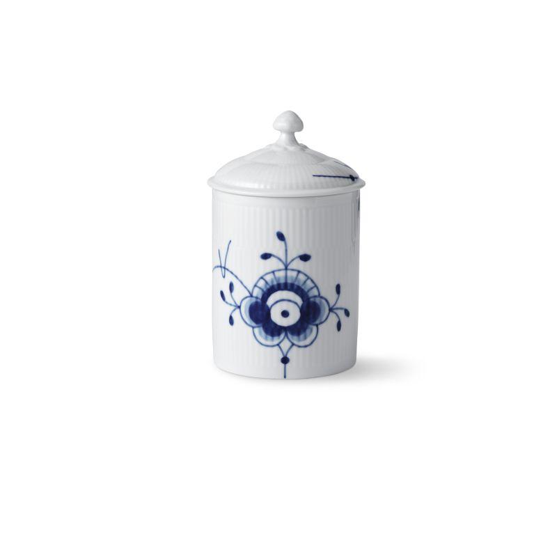 Dose mit Deckel - 16 cm Blue Fluted Mega Royal Copenhagen
