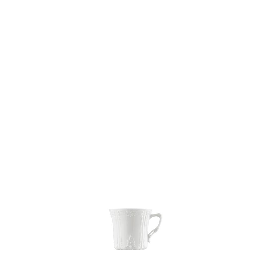 Espresso-/Mokka-Obertasse Baronesse Weiss Hutschenreuther