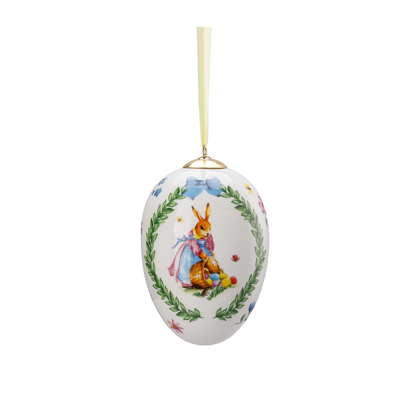 Porzellan-Midi-Ei Geschenkserie Eiersammeln Hutschenreuther