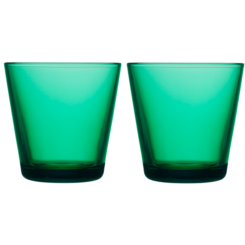 Glass – 210 ml - Emerald - 2 Stück Kartio Iittala