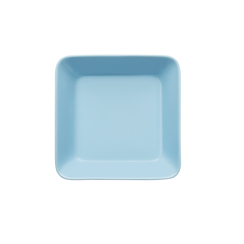 Teller - 16 x 16 cm - hellblau Teema light blue Iittala