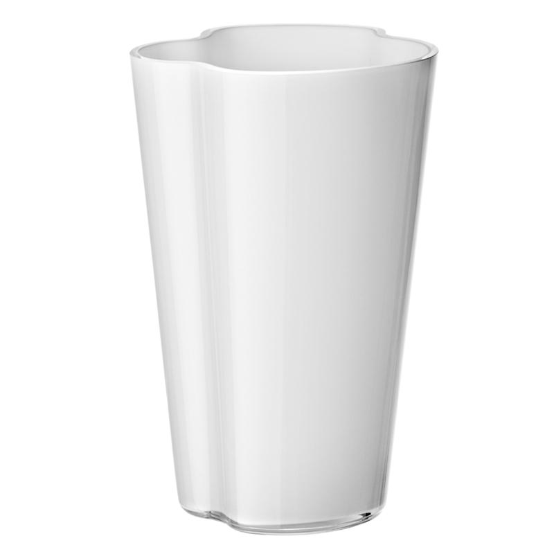 Vase – 22 cm - Weiss Aalto Iittala