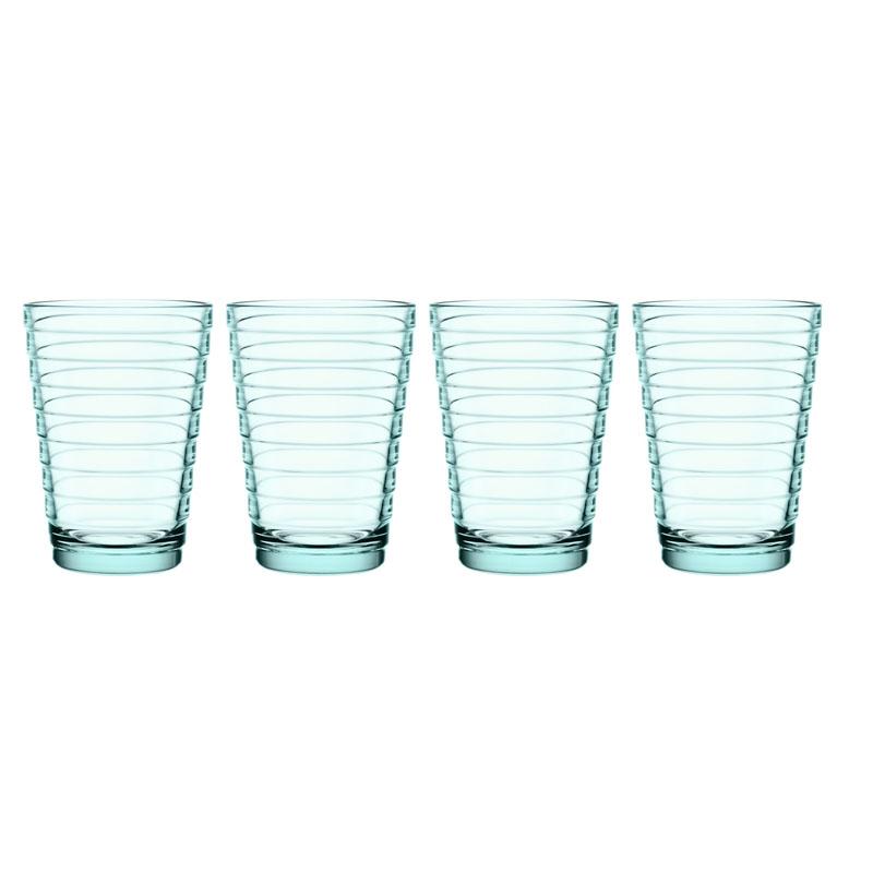 Glas - 330 ml – Wassergrün - 4 Stück Aino Aalto Iittala