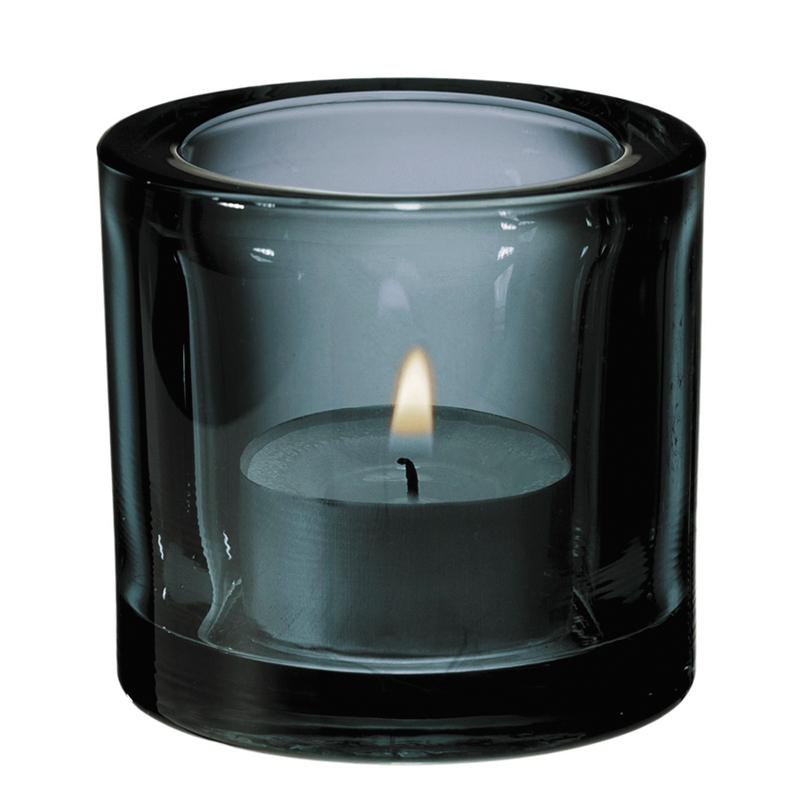 Windlicht – 6 cm - Grau Kivi votives Iittala
