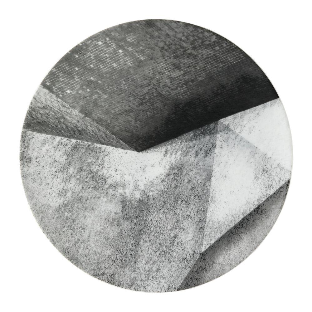 Platzteller 33 cm Struktur TAC Gropius Stripes 2.0 Rosenthal Studio Line