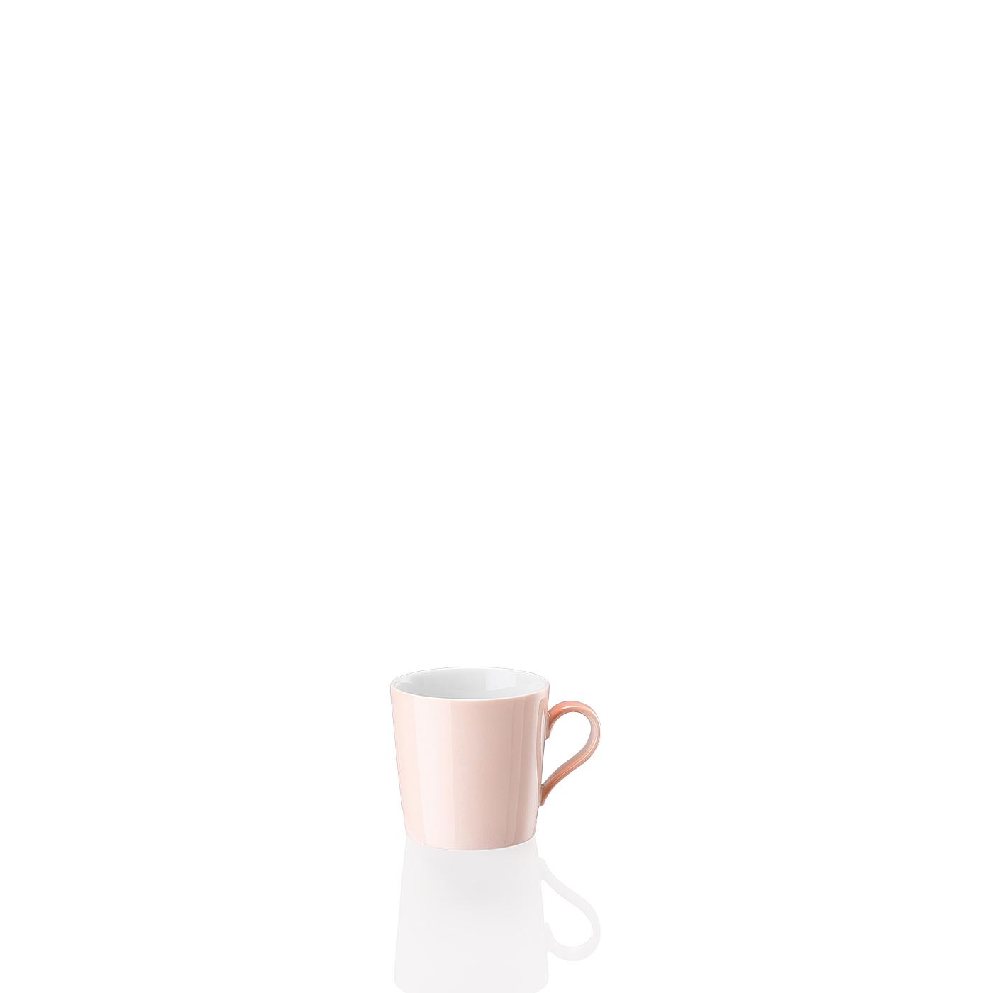 Espresso-/Mokka-Obertasse Tric Soft Rose Arzberg