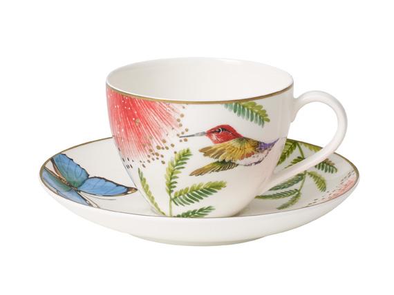 Kaffeetasse mit Untertasse 2tlg. Amazonia Anmut Villeroy und Boch