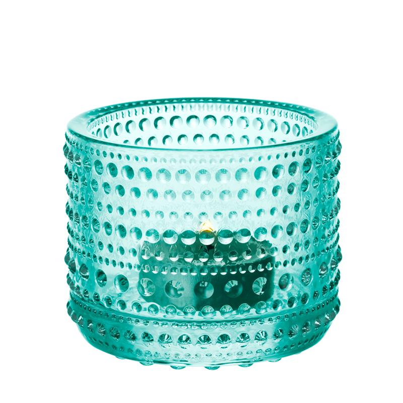 Windlicht – 6,4 cm – Wassergrün Kastehelmi Iittala