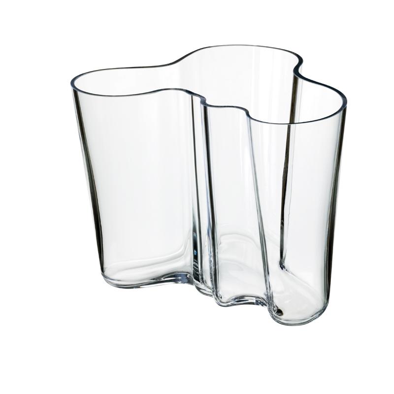 Vase – 16 cm - Klar Aalto Iittala