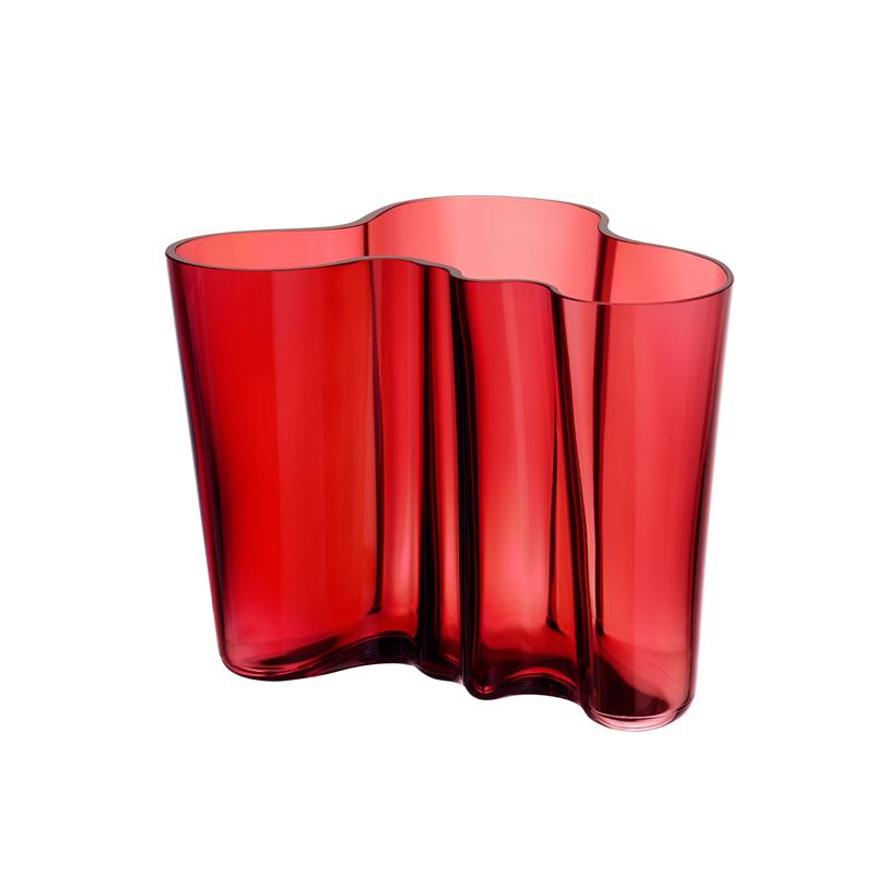 Vase - 16 cm - Cranberry Aalto Iittala