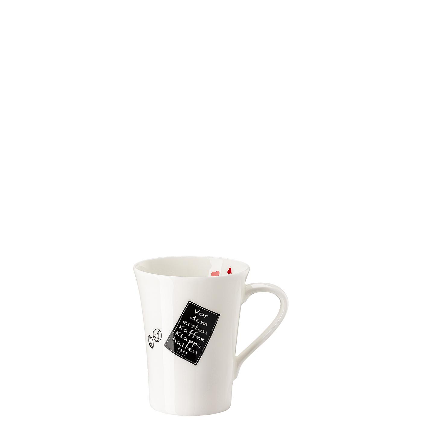 Becher mit Henkel My Mug Collection Worte - Kaffee Hutschenreuther