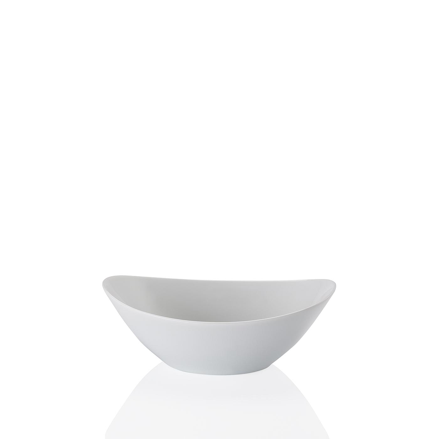 Schale oval 20 cm Form 2000 Weiss Arzberg