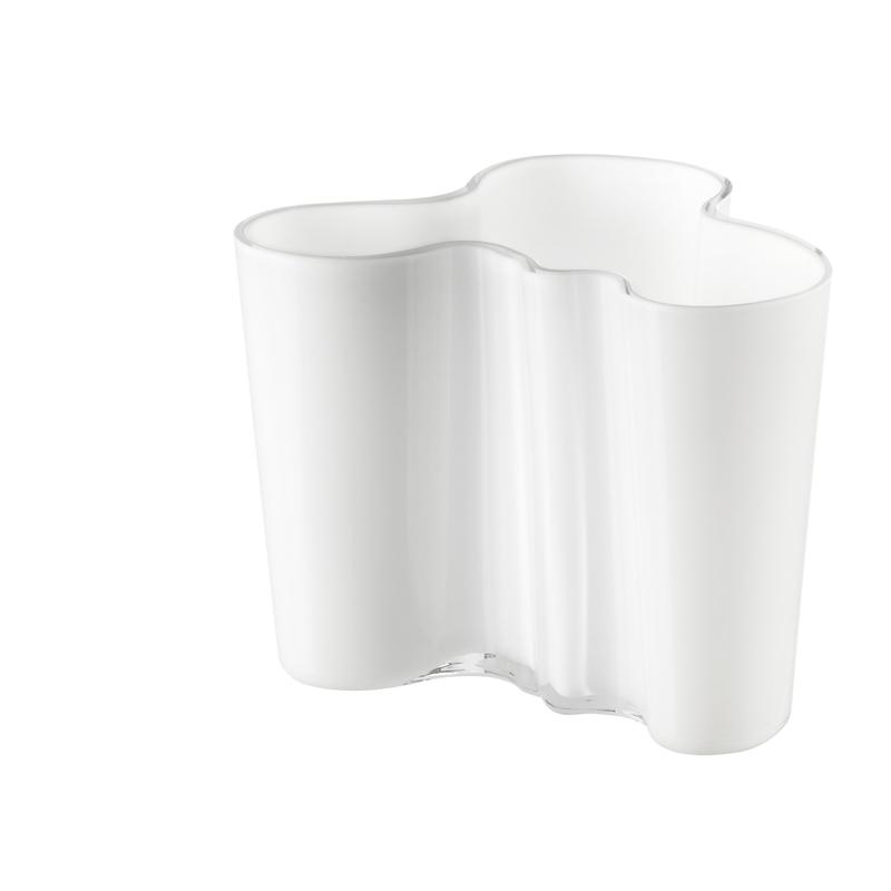 Vase – 12 cm - OpalWeiss Aalto Iittala
