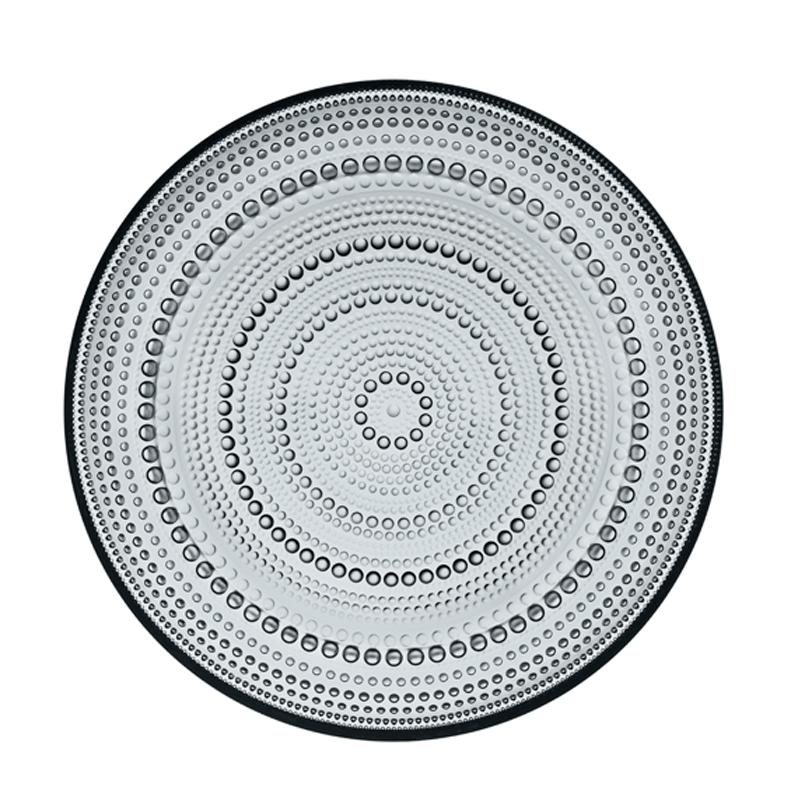 Teller – 24,8 cm - Grau Kastehelmi Iittala