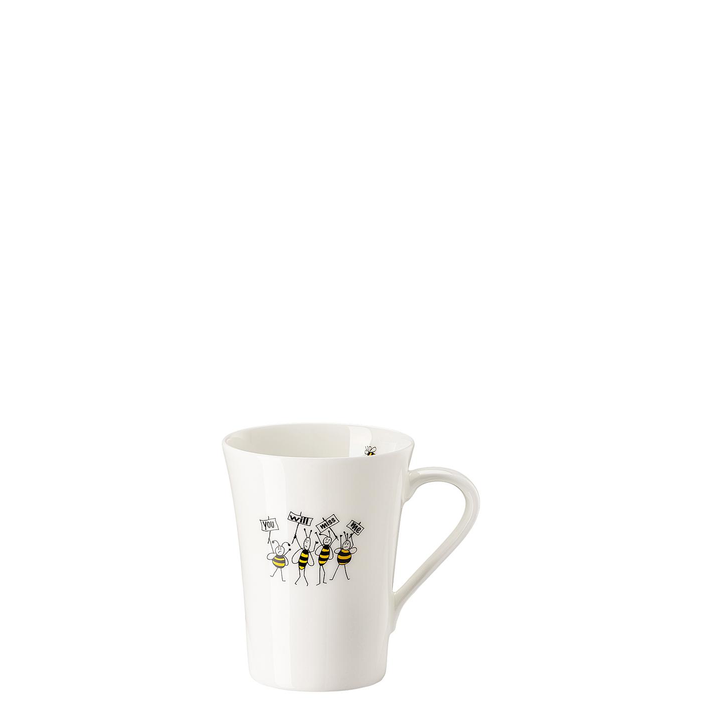Becher mit Henkel My Mug Collection Bees - Miss me Hutschenreuther