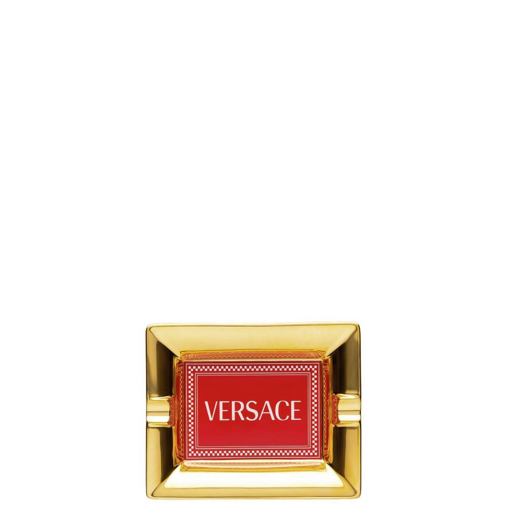 Ascher 13 cm Versace Medusa Rhapsody Red Versace by Rosenthal