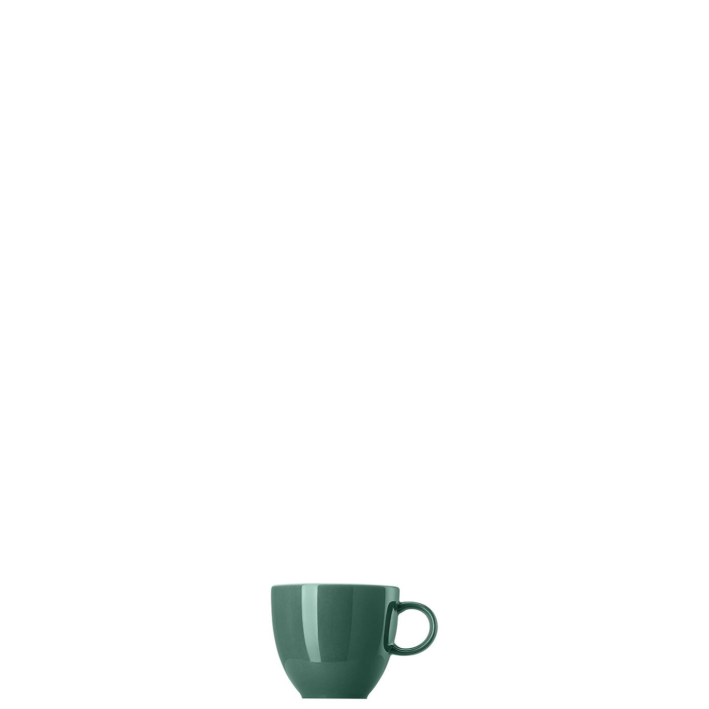 Espresso-/Mokka-Obertasse Sunny Day Herbal Green Thomas Porzellan