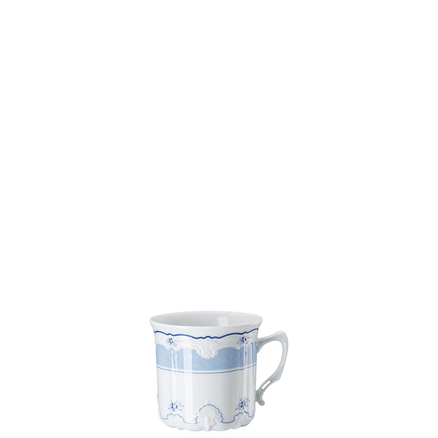 Kaffee-Obertasse groß Baronesse Estelle Blue Hutschenreuther