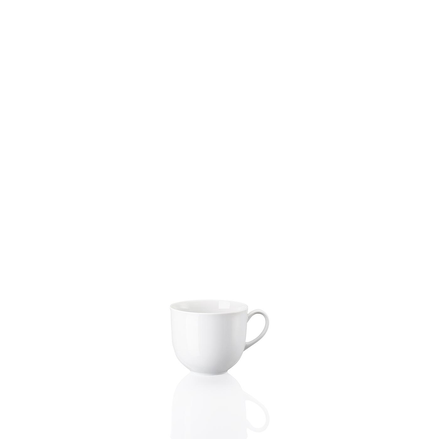 Kaffee-Obertasse Form 1382 Weiss Arzberg