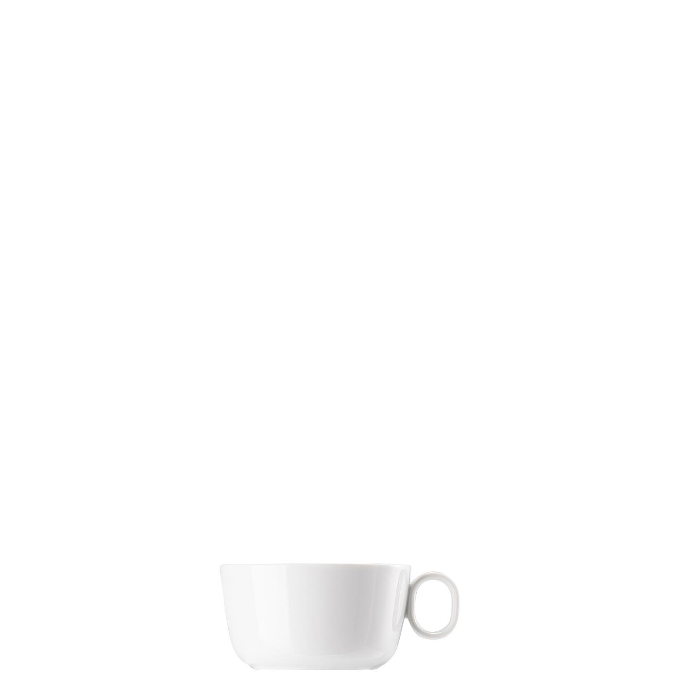 Cappuccino-Obertasse ONO Weiss Thomas Porzellan