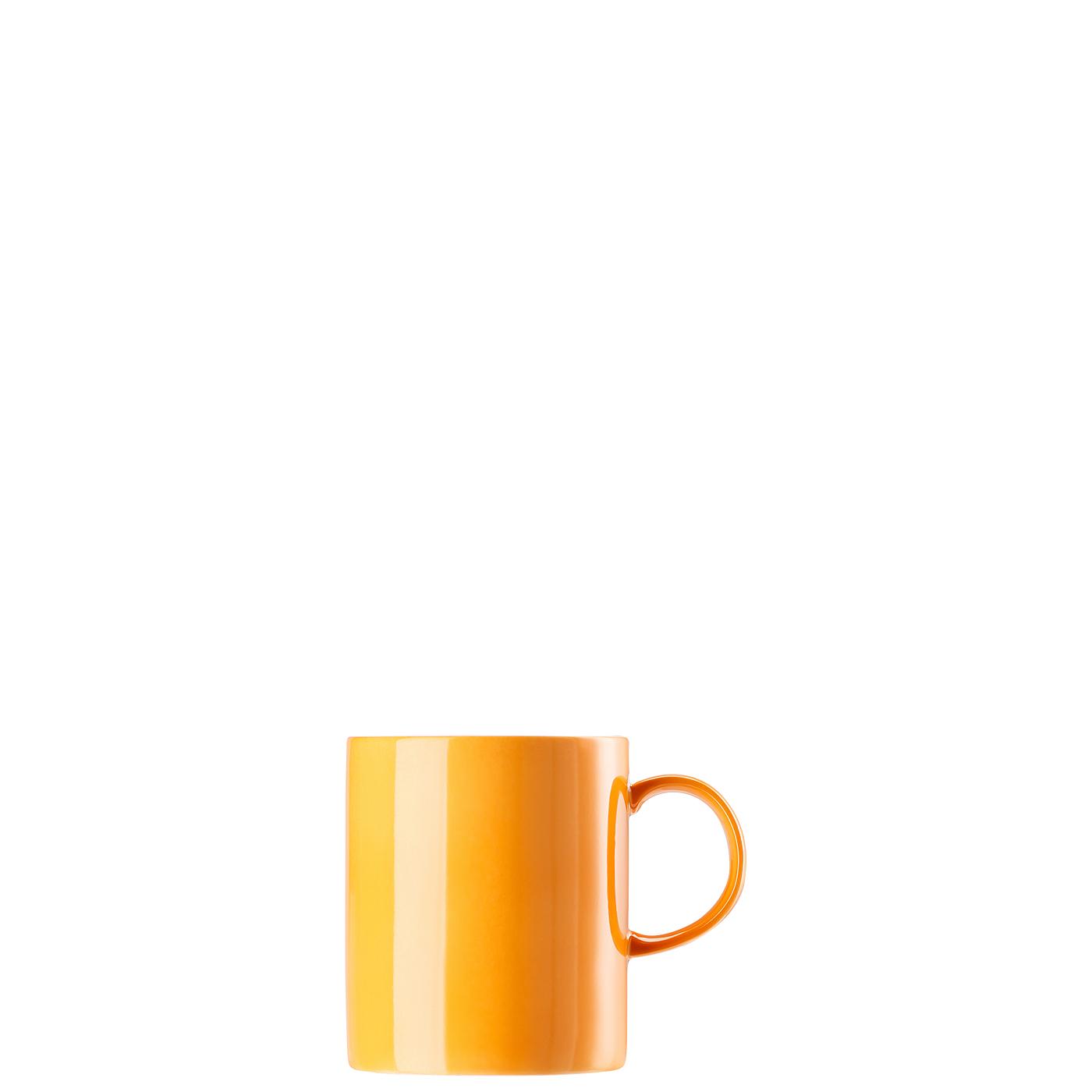 Becher mit Henkel groß Sunny Day Orange Thomas Porzellan