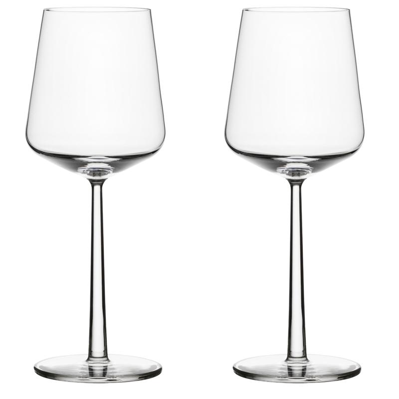 Rotweinglas - 450 ml - Klar - 2 Stück Essence Iittala