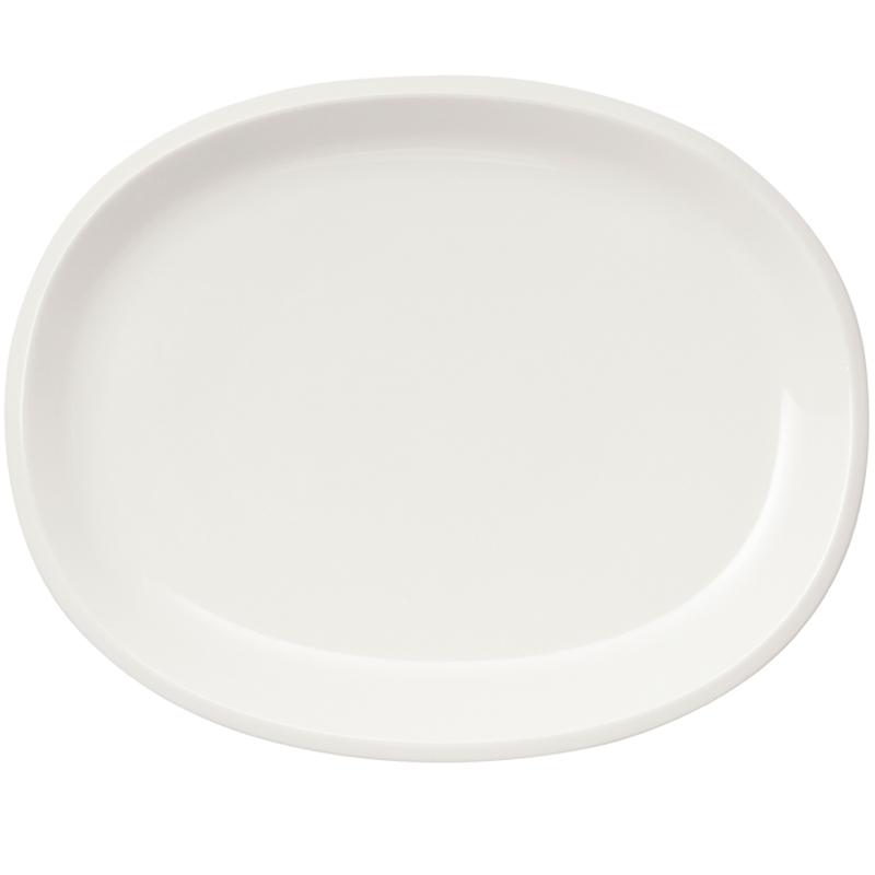 Servierplatte oval - 35cm - Weiss Raami Iittala