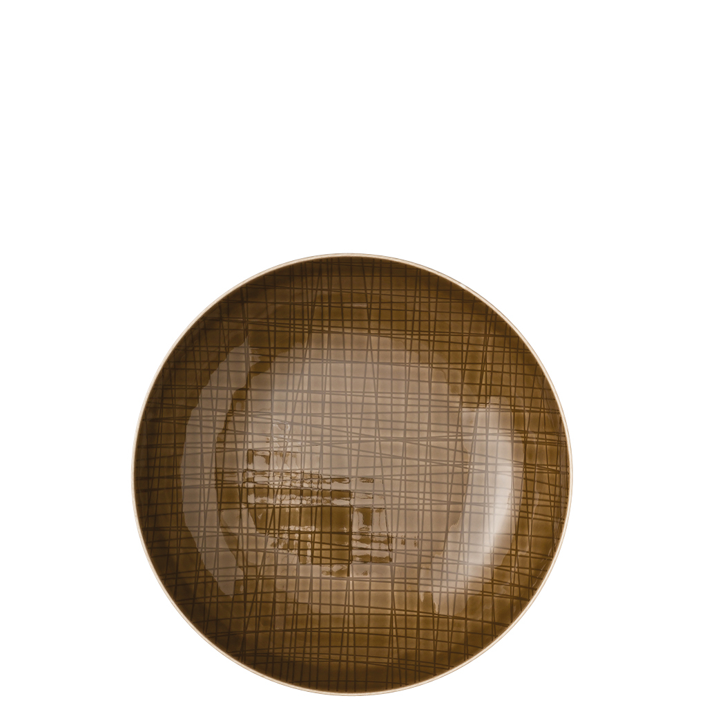 Teller tief 21 cm Mesh Colours Walnut Rosenthal
