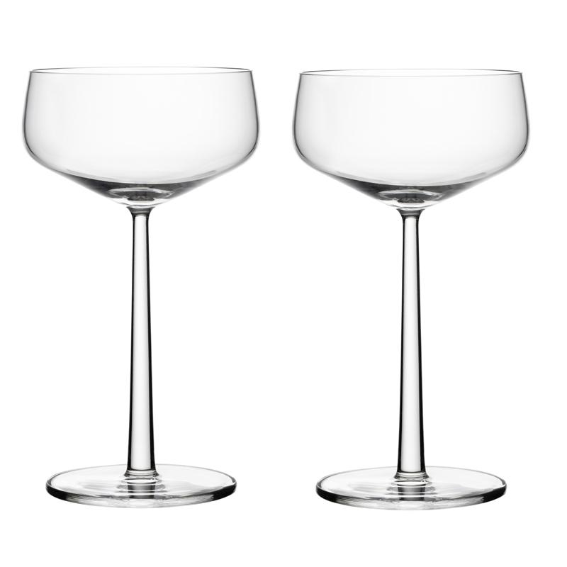 Cocktailglas – 310 ml - Klar - 2 Stück Essence Iittala