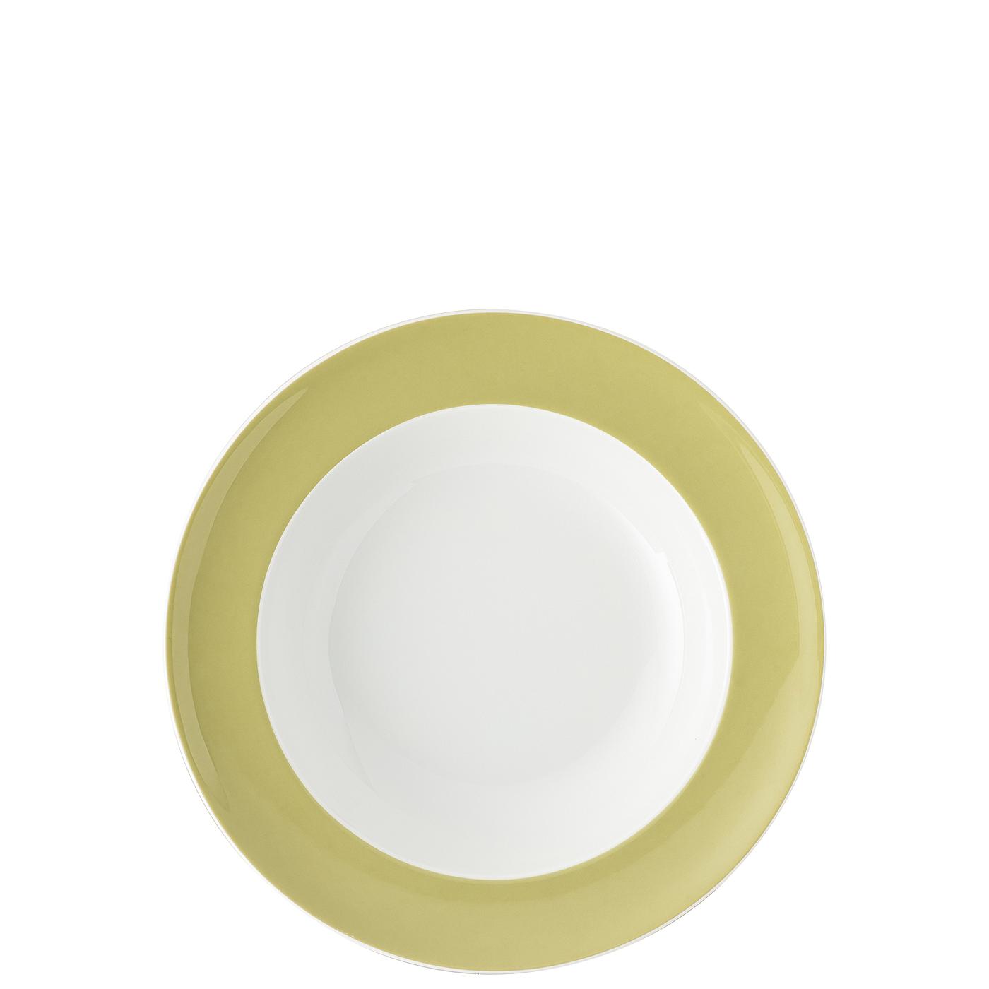 Suppenteller 23 cm Sunny Day Avocado Green Thomas Porzellan