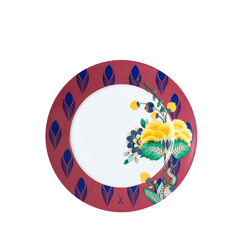 Vorspeise- & Dessertteller 22cm No 41 Mystic Garden Collage Meissen
