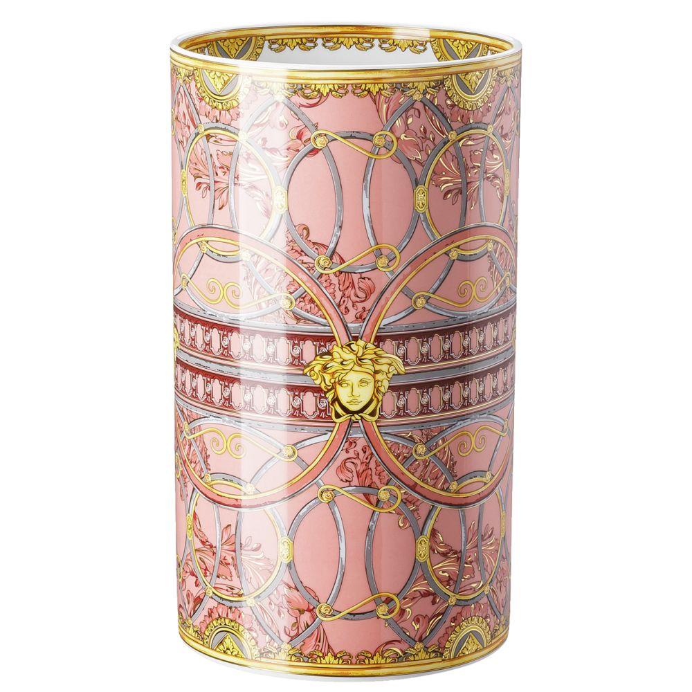 Vase 30 cm Versace Scala Palazzo Rosa Versace by Rosenthal