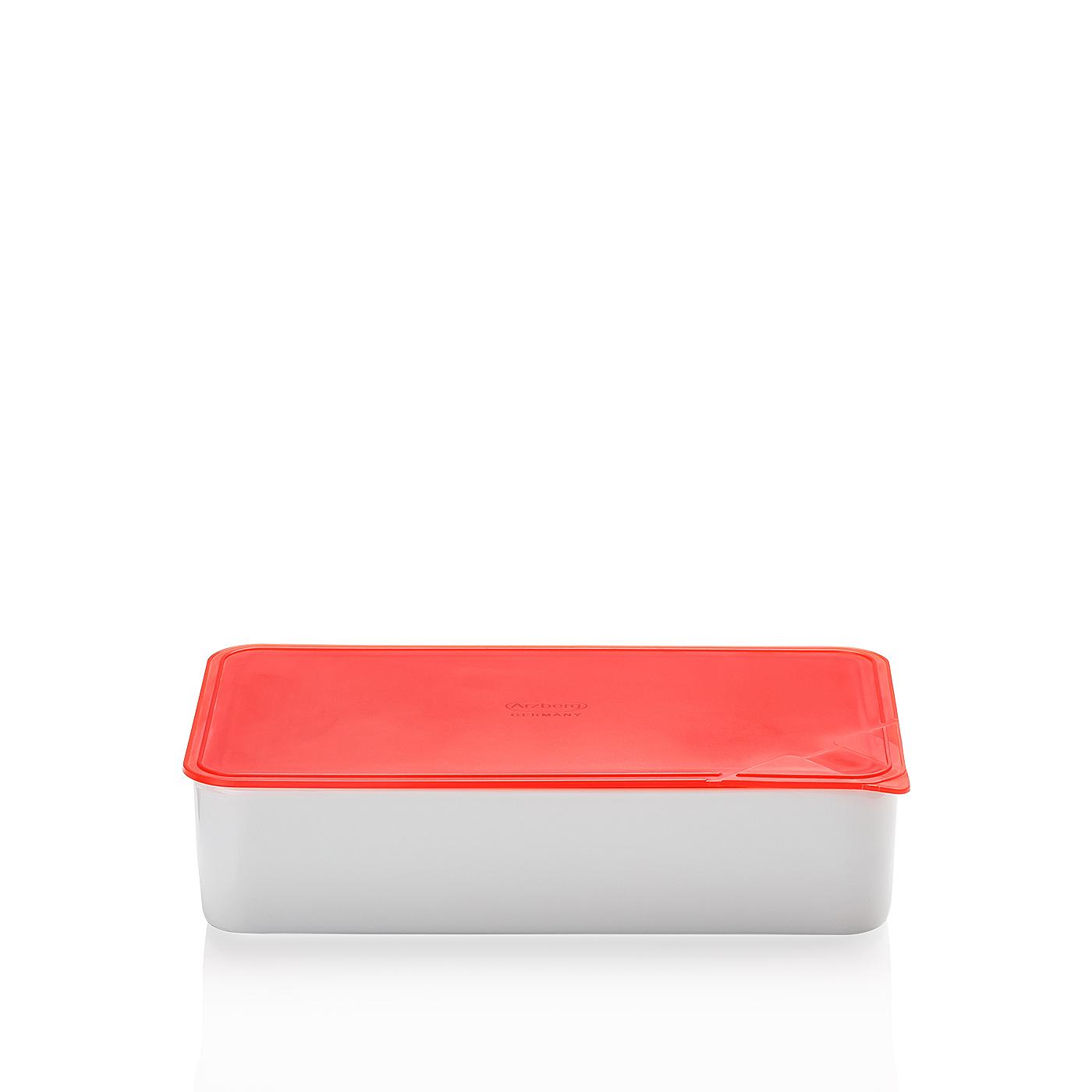Frischebox 15x25 cm Küchenfreunde Kunststoff rot Arzberg