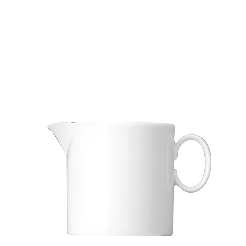 Milchkännchen 6 P. Medaillon Weiss Thomas Porzellan
