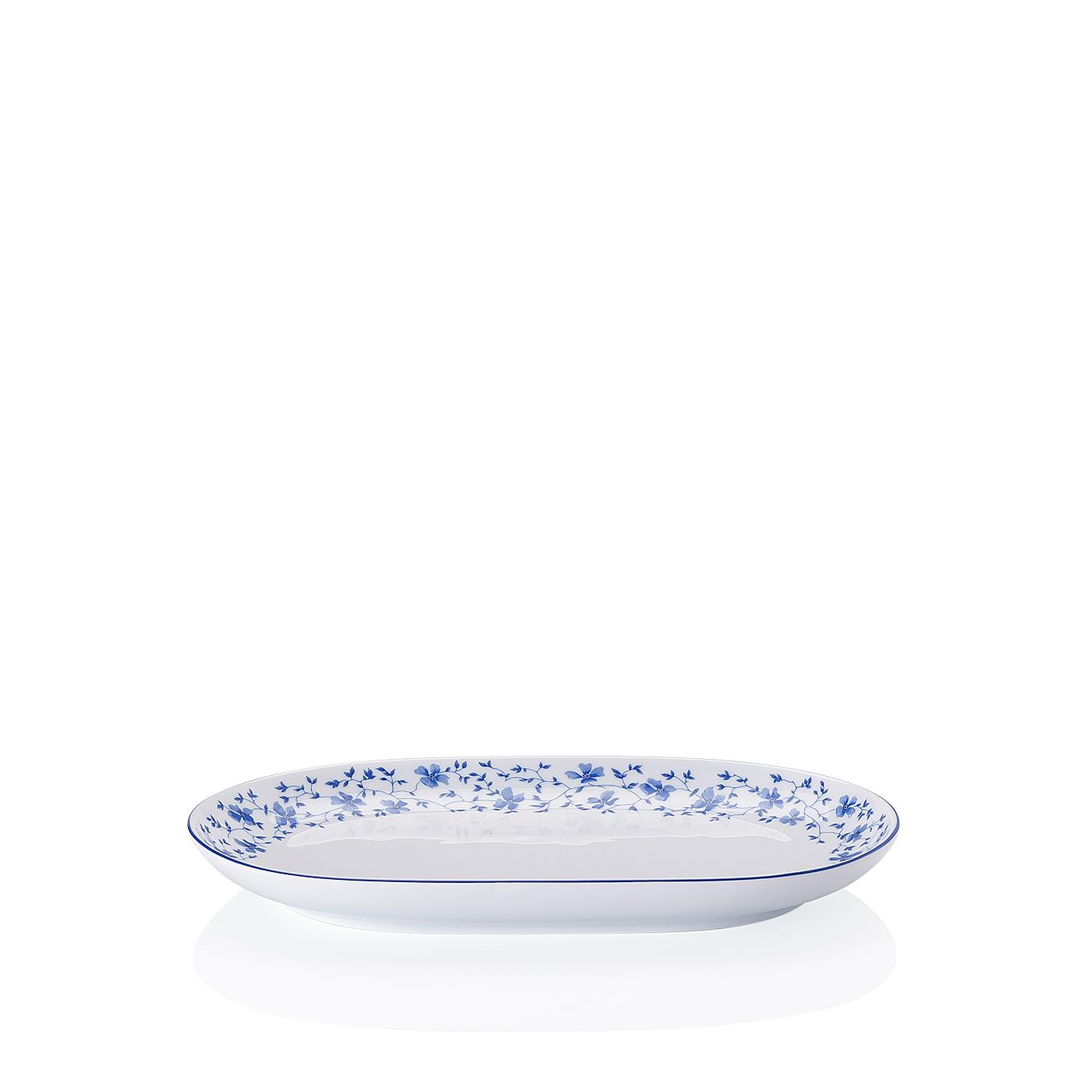Beilagenplatte Form 1382 Blaublüten Arzberg
