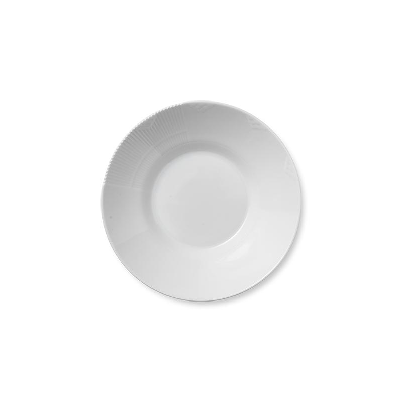 Pastateller - 25 cm White Elements Royal Copenhagen