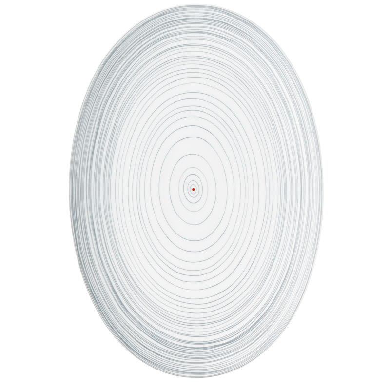 Platte 38 cm TAC Gropius Stripes 2.0 Rosenthal Studio Line