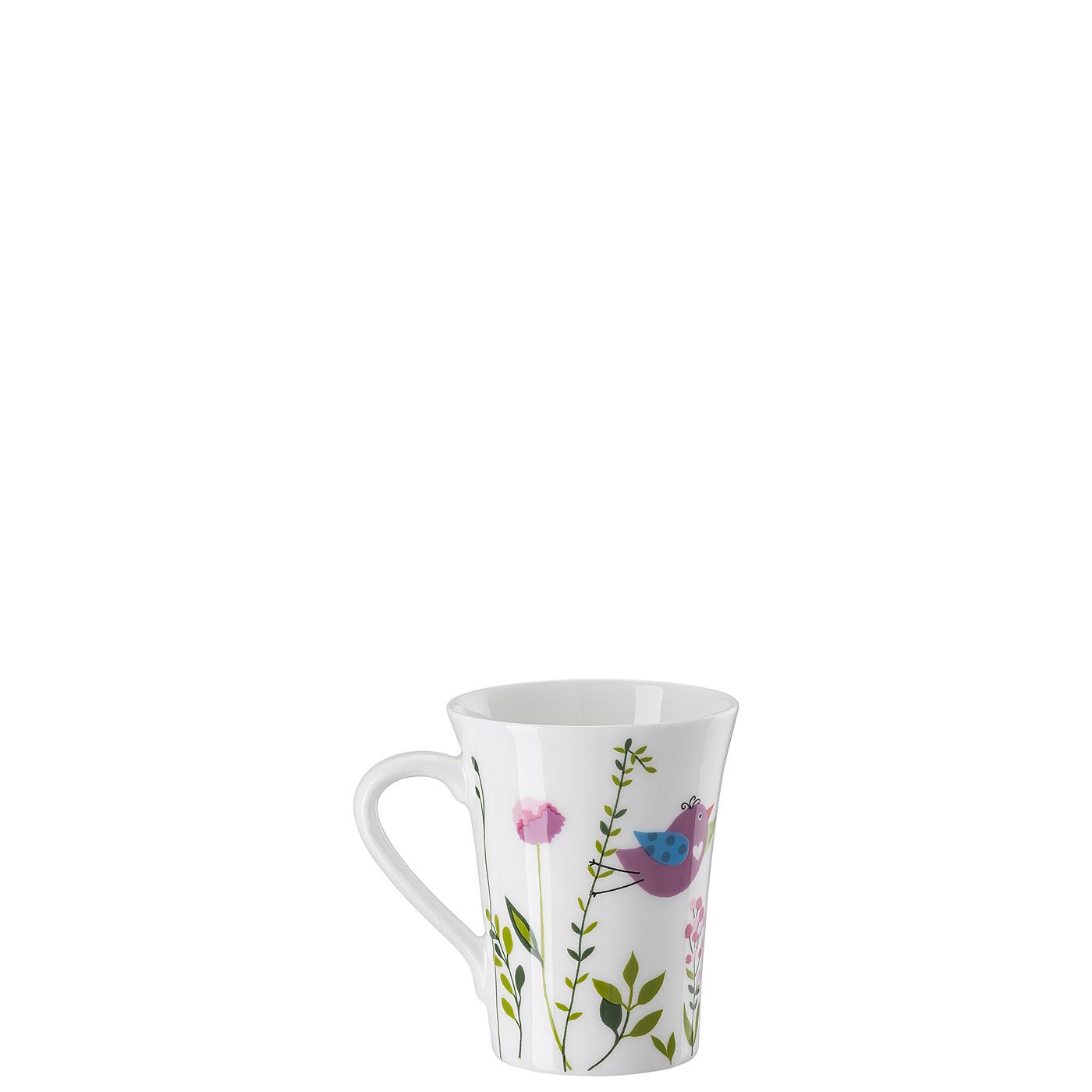 Becher mit Henkel My Mug Collection Birdie - Pink Hutschenreuther