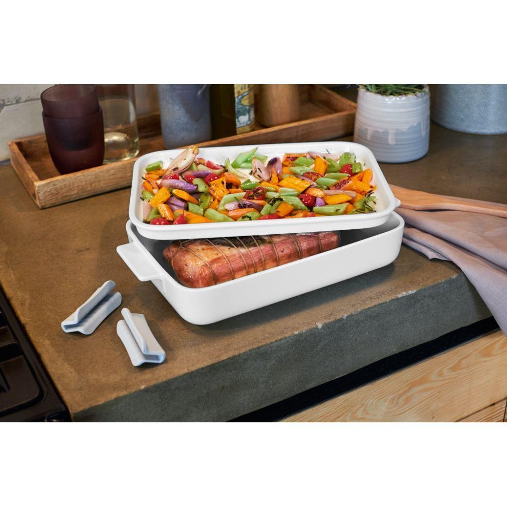 Backform mit Deckel, rechteckig 30x20cm Clever Cooking Villeroy und Boch