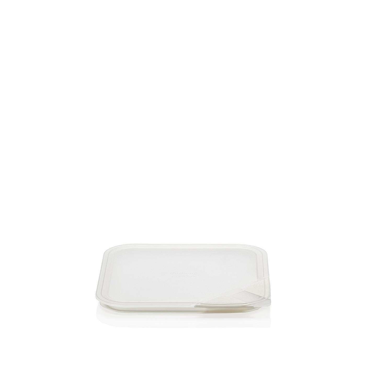 Aromadeckel quadratisch 18 cm Küchenfreunde Kunststoff transparent Arzberg